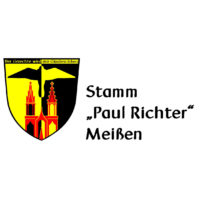"""Logo Christliche Pfadfinderschaft Deutschlands e.V. Stamm """"Paul Richter"""" Meißen"""